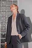 Жіночий костюм Stimma Азолла 8173 Xs Графіт, фото 2