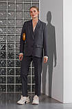Жіночий костюм Stimma Азолла 8173 Xs Графіт, фото 4