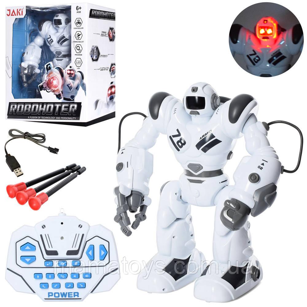 Робот на радіоуправлінні Roboactor TT353 Ходить, стріляє, програмується. 35 см