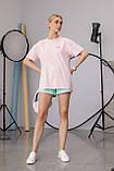 Женская футболка Stimma Чанди 7629 M Нежно Розовый, фото 2