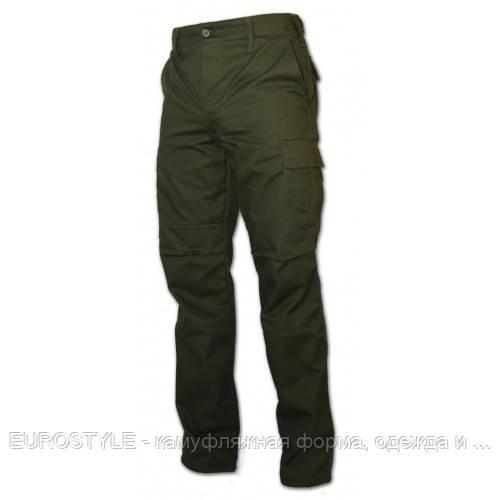 Военные брюки олива