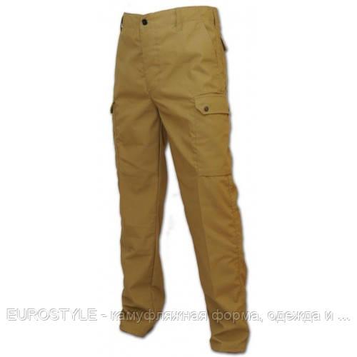 Камуфляжные брюки рип-стоп