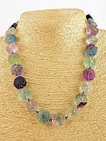 Ожерелье из камня флюорита