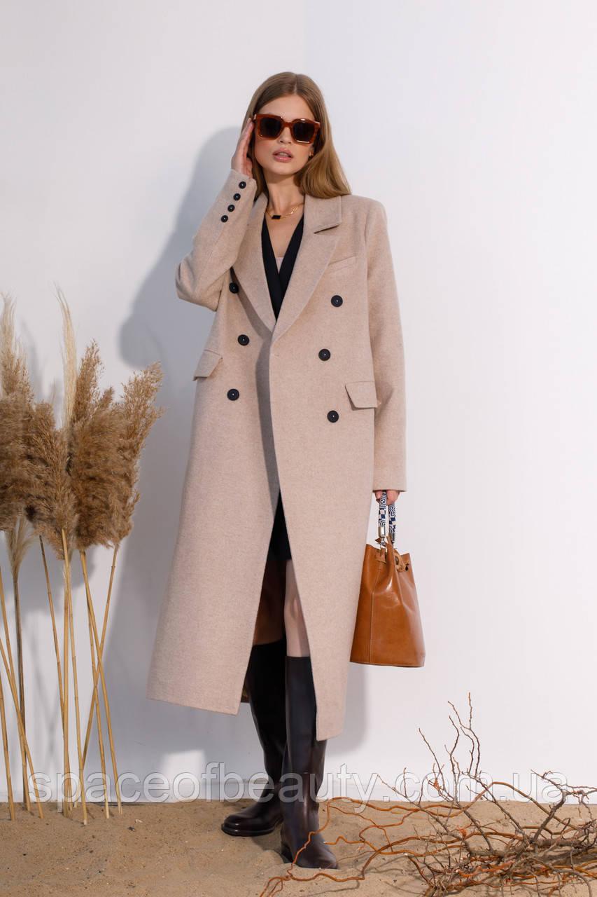 Женское пальто Stimma Деливер 8169 L Бежевый