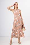 Жіноче плаття Stimma Касалия 7492 M Карамельно-Бежевий, фото 2