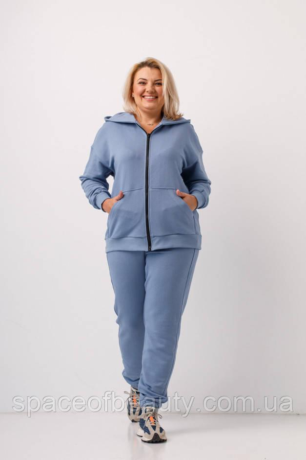 Спортивний костюм жіночий Stimma Бетл 8349 Xxl Сизий