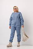Спортивний костюм жіночий Stimma Бетл 8349 Xxl Сизий, фото 3