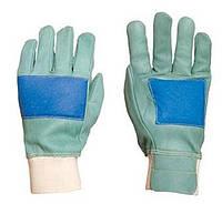 Перчатки кожанные для лесника рабочие FORESTIER. Размер 9