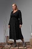 Женское платье Stimma Акира 8310 2Xl Черный, фото 2