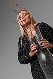 Женское платье Stimma Акира 8310 2Xl Черный, фото 4
