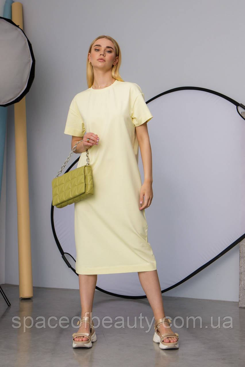Женское платье Stimma Лолис 7595 Xs Желтый