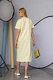 Женское платье Stimma Лолис 7595 Xs Желтый, фото 4