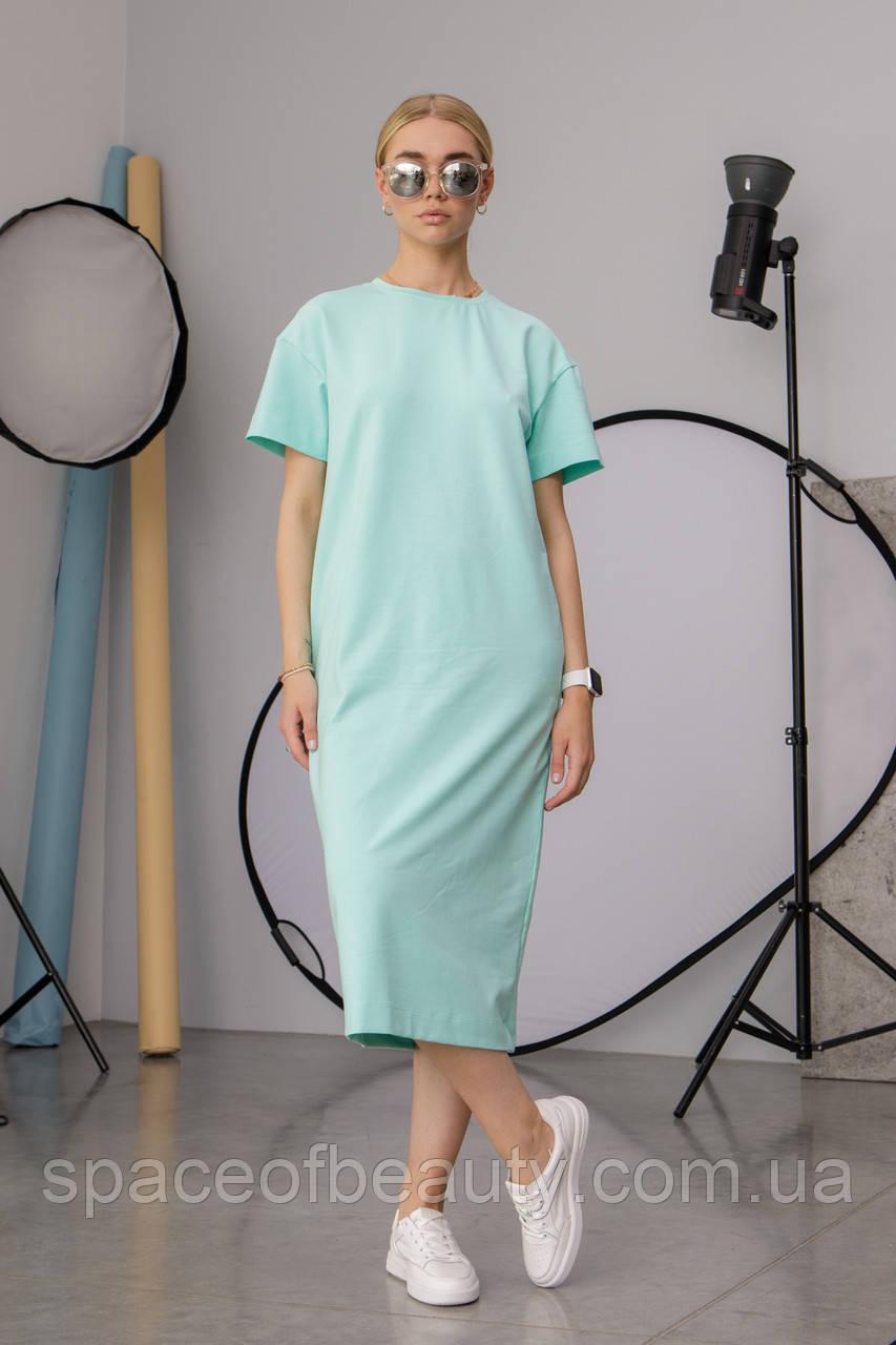 Женское платье Stimma Лолис 7596 Xs Аквамарин