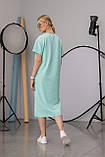 Женское платье Stimma Лолис 7596 Xs Аквамарин, фото 2