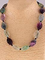 Ожерелье камень флюорит