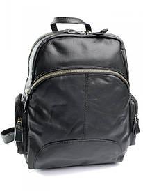 Шкіряний рюкзак 811 Black