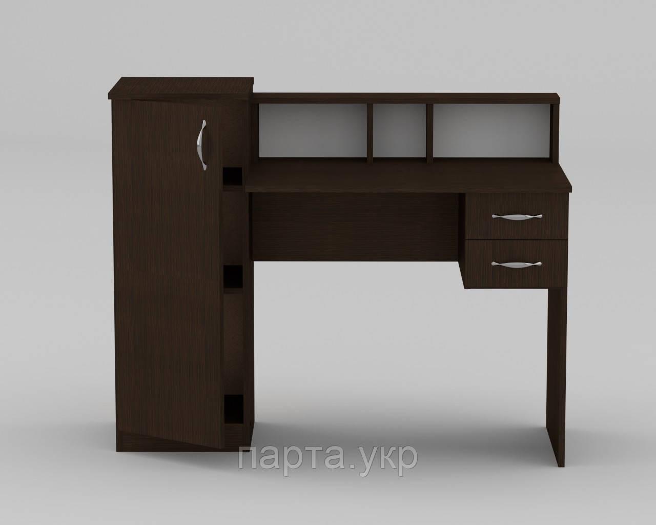 Письменный стол c пеналом (темный)