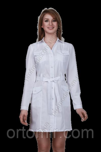 Халат медицинский женский САФАРИ габардин