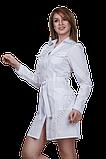 Халат медичний жіночий САФАРІ габардин, фото 2