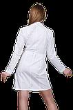Халат медичний жіночий САФАРІ габардин, фото 3