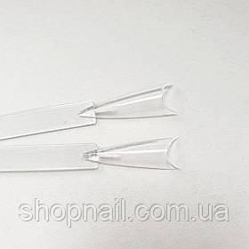 Палитра - веер удлиненная на кольце прозрачная (50 образцов).