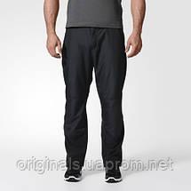 Брюки для активного отдыха adidas Windfleece мужские A98519 черные, фото 3