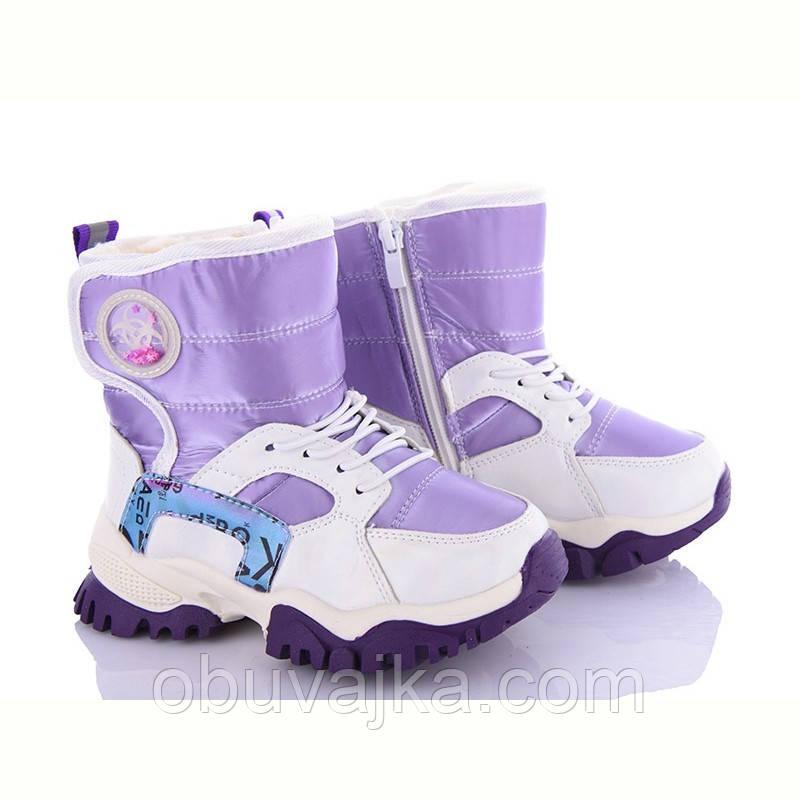 Зимняя обувь Детские дутики 2022 от фирмы  Alemy Kids (27-32)
