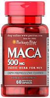 Адаптоген Puritan`s Pride - Maca 500 мг (60 капсул)