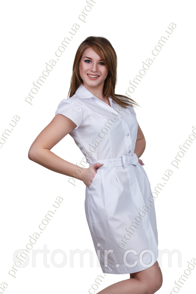 Халат медичний жіночий СОФІ сорочкова