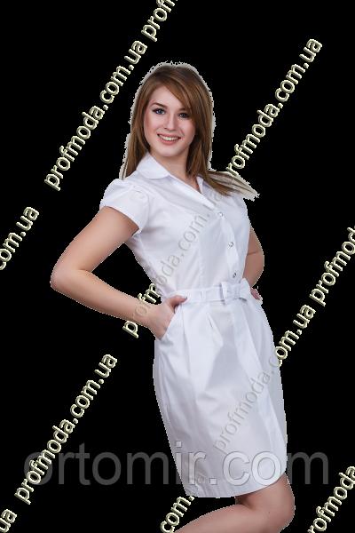 Халат медицинский женский СОФИ рубашечная