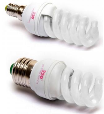 Лампы энергосберегающие 220 ТМ