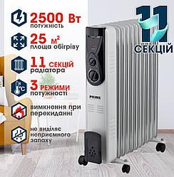 Масляний обігрівач PRIME Technics PHR 2511