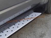 Пороги боковые оригинал в X6 стиль для Subaru Forester 2010-14
