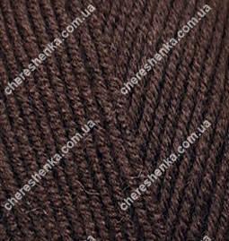 Нитки Alize Lanagold Fine 26 коричневый, фото 2