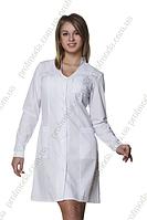Халат медицинский женский 36,6 рубашечная