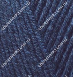 Нитки Alize Lanagold Fine 58 темно-синий, фото 2