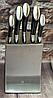 Набір ножів з підставкою Edenberg EB-11002 6 предметів 5 ножів   Ножі кухонні універсальний набір, фото 7