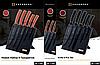 Набор ножей с подставкой Edenberg EB-11007 6 предметов 5 ножей   Ножи кухонные универсальный набор, фото 2