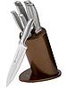 Набор ножей с подставкой Edenberg EB-11021 6 предметов 5 ножей   Ножи кухонные универсальный набор, фото 2