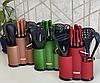 Набор ножей поварешек с подставкой Edenberg EB-11099 14 предметов | Набор Кухонных принадлежностей, фото 3