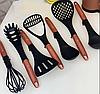 Набор ножей поварешек с подставкой Edenberg EB-11099 14 предметов | Набор Кухонных принадлежностей, фото 5