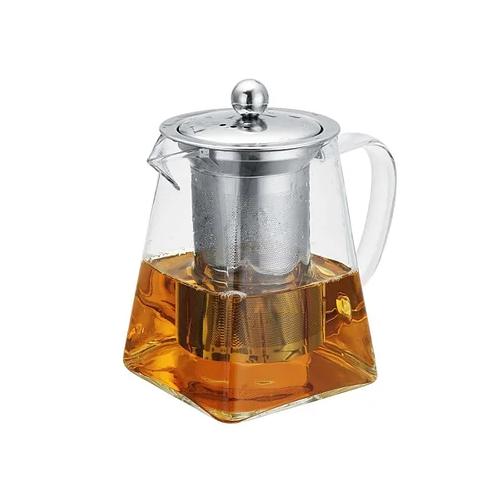 Чайник-заварник Edenberg EB-19022 750 мл термостойкое стекло до 500 град. | заварочный чайник Эдерберг