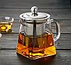 Чайник-заварник Edenberg EB-19022 750 мл термостойкое стекло до 500 град. | заварочный чайник Эдерберг, фото 2
