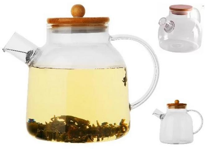Чайник-заварник Edenberg EB-19027 800 мл термостойкое стекло до 500 град.   заварочный чайник Эдерберг