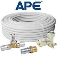 Металлопластиковая труба APE для водоснабжения, отопления d 26х3 (по 50м)