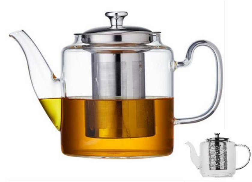 Чайник-заварник Edenberg EB-19038 1500 мл термостійке скло до 500 град.   заварювальний чайник Эдерберг