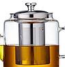 Чайник-заварник Edenberg EB-19038 1500 мл термостійке скло до 500 град.   заварювальний чайник Эдерберг, фото 2
