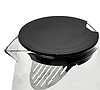 Чайник-заварник Edenberg EB-19042 750 мл термостійке скло до 500 град.   заварювальний чайник Эдерберг, фото 2