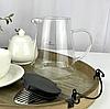 Чайник-заварник Edenberg EB-19044 1300 мл термостойкое стекло до 500 град. | заварочный чайник Эдерберг, фото 5