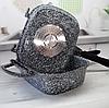 Жаровня Edenberg EB-3320 3в1 двухсторонняя алюминий с гранитным покрытием гусятница казан сковорода с крышкой, фото 5